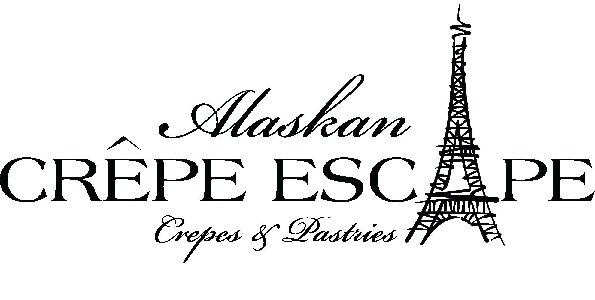 Alaskan Crepe Escape Retina Logo